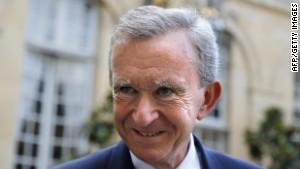 Luxury group LVMH CEO and France\'s richest man Bernard Arnault