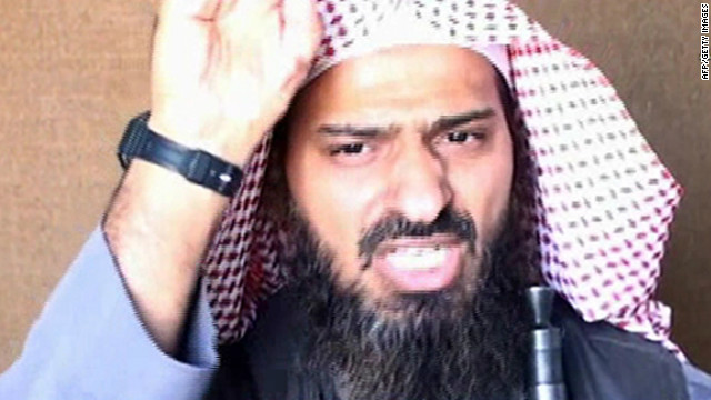 A screen shot of a video shows Al-Qaeda's Said al-Shihri on October 6, 2010.