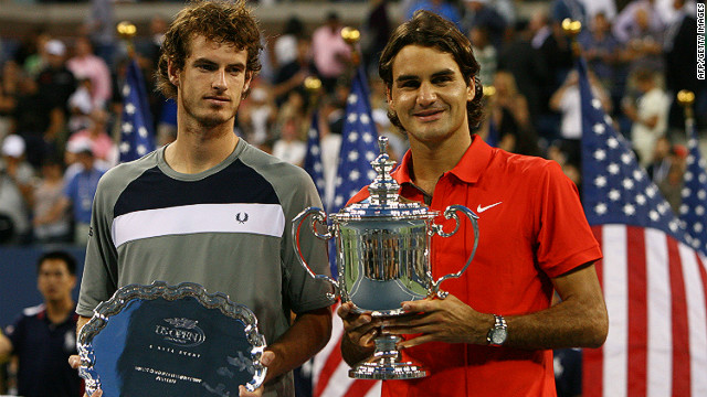 A 21-year-old Murray lined up against Roger Federer in his first grand slam final at the U.S. Open in 2008. It was a one-sided affair with Federer winning in straight sets 6-2 7-5 6-2 to pick up his 13th major.