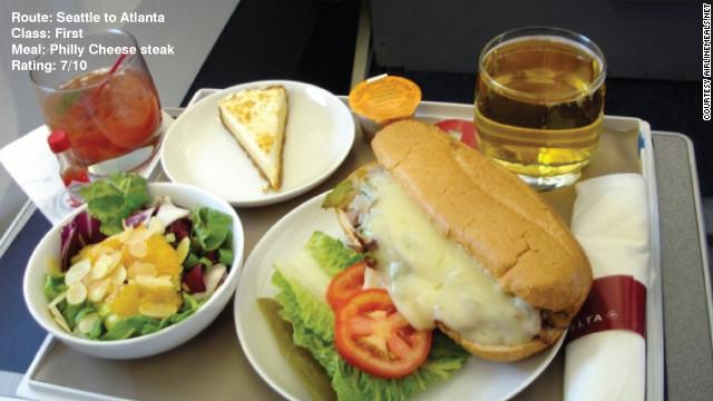Flying Foodies Soar As In Flight Food Ratings Rocket Cnn Com