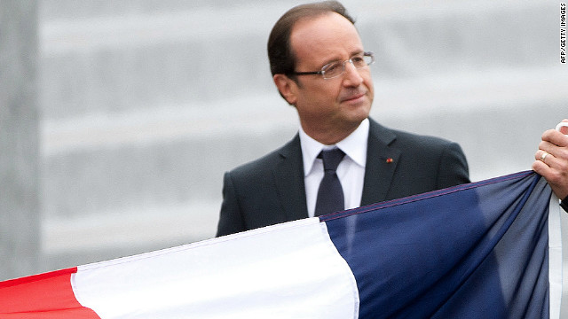 French President Francois Hollande has revealed a tough first budget, with some saying financial war has been declared. 