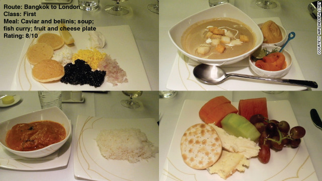Tom Obokata added these shots to AirlineMeals.net and wrote simply: &quot;Pretty decent, although I did not really enjoy the pre-ordered main course (fish curry).&quot;