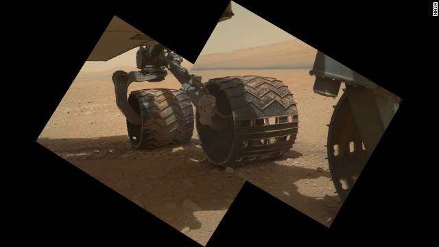 """El """"Curiosity"""" se hace un """"autorretrato"""" en alta resolución"""