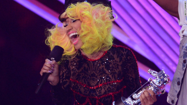 Nicki Minaj on Romney endorsement: Sarcasm, get it?