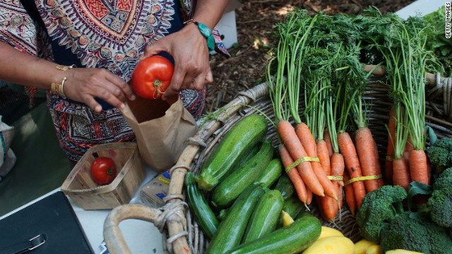 Does healthy food have to be organic?