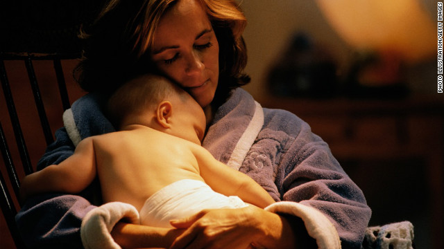 Does mom's depression affect baby's language?