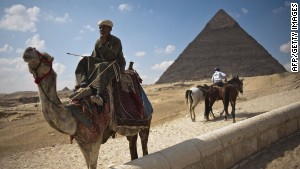 Tourism is vital to Egypt, employing around 10% of the workforce.