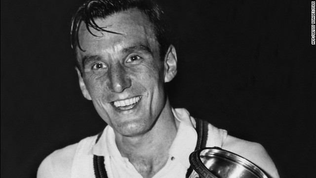Fred Perry, winner of all four Grand Slams, poses with his trophy on September 12, 1936, after winning the men's singles against Donald Budge at what was then called the U.S. Championships. Not for another 76 years would another British man, Andy Murray, win a Grand Slam title. CNN looks at other momentous events that happened in 1936.
