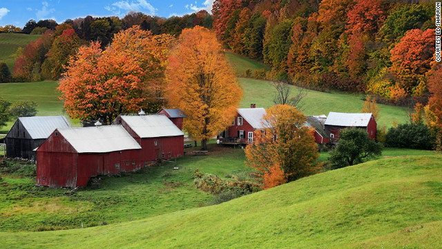 Jenne Farm, in Reading, Vermont, may be one of the most photographed farms in the world.