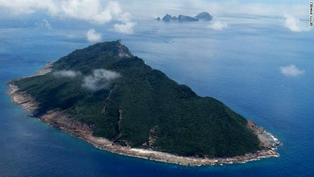 In recent months, a territorial dispute over a set of islands in the East China Sea has strained Chinese relations with Japan. The dispute flared when Japan announced it had bought the islands from private owners. 