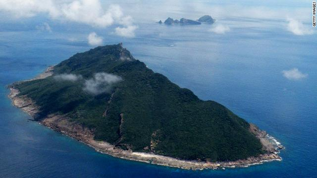 This disputed islands in the East China Sea are known as Senkaku in Japan and Diaoyu in China.