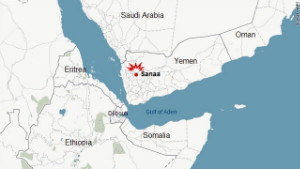 The blast took place in the center of Yemen\'s capital, Sanaa.