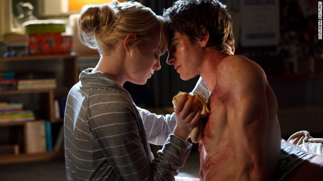"""The Amazing Spider-Man"" brought Emma Stone and Andrew Garfield together. The pair will reportedly also co-star in the sequel, due out in 2014."