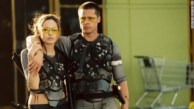 If &quot;Mr. &amp;amp; Mrs. Smith&quot; marked the beginning of &quot;Brangelina,&quot; it also marked the end of Brad Pitt and Jennifer Aniston's marriage. The couple divorced in October 2005, about four months after the film hit theaters. Pitt and Angelina Jolie have been together ever since, raising six children together. They announced their engagement in April.