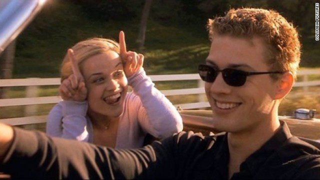 "In 1999, a 23-year-old Reese Witherspoon married her ""Cruel Intentions"" co-star Ryan Phillippe. The actors welcomed two children together, but ended up splitting in 2006. Witherspoon married agent Jim Toth in 2011 and the newlyweds are currently <a href='http://marquee.blogs.cnn.com/2012/06/25/witherspoon-confirms-pregnancy-says-shes-feeling-very-round/' target='_blank'>expecting their own bundle of joy.</a>"