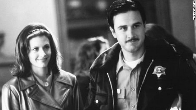 "Courteney Cox and David Arquette met while filming ""Scream"" in 1996. The pair tied the knot in 1999, but they have since separated, <a href='http://marquee.blogs.cnn.com/2012/06/14/cox-arquette-on-same-page-in-divorce/' target='_blank'>filing for divorce</a> in 2012. They have one daughter together."