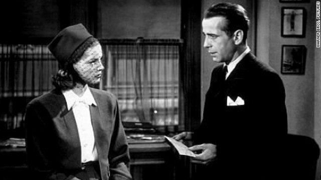 "Humphrey Bogart and Lauren Bacall first appeared together in 1944's ""To Have And Have Not."" They collaborated on several other projects, including ""The Big Sleep"" and ""Dark Passage,"" and were married in 1945. Bogart died of cancer in 1957, leaving behind Bacall and their two children."
