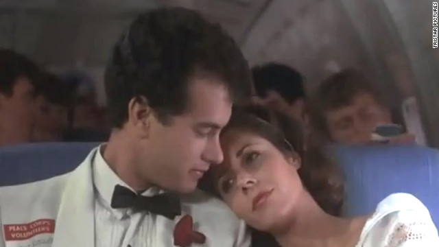 "After more than 20 years of marriage, Tom Hanks and Rita Wilson are still going strong. The pair, who appeared together in 1985's ""Volunteers,"" <a href='http://www.usmagazine.com/celebrity-news/news/awww-tom-hanks-rita-wilson-caught-on-kiss-cam-201253' target='_blank'>smooched for the Kiss Cam</a> at a Los Angeles Kings game in 2012."