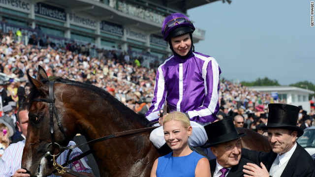 Jockey Jospeh O'Brien rode the three-year-old colt to victory at the Epsom Derby. The 19-year-old Irishman has ridden Camelot in all of his starts and will play a decisive role masterminding Saturday's race.