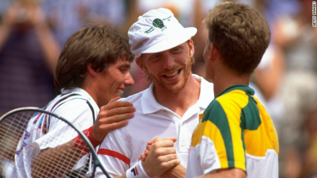 Upon beating South Africa in the 1992 Olympic final, Stich and Becker hugged &quot;like brothers&quot; -- a gesture Becker says would have been &quot;impossible&quot; just a week before the tournament. 