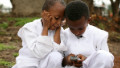 africa mobile phone boys