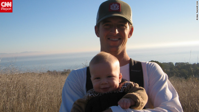 "<a href='http://ireport.cnn.com/docs/DOC-840603'>Ryan Thompson</a> worked at a corporate job in California, but after he was laid off he decided to become a teacher. Although he took a pay cut, he says being a teacher allows him to spend time with his three kids. ""It's an awesome family job,"" he said."