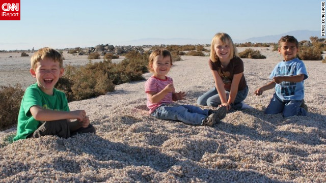 <a href='http://ireport.cnn.com/docs/DOC-840200'>Renee Longshore</a> is a teacher in California. This is a photo of her four children. She says because of the low teacher pay she has become a budgeter. But she says the greatest frustration for her as a teacher is not feeling valued or appreciated.