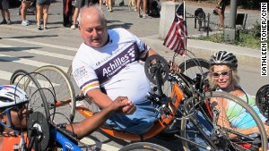 For more than 30 years, Dick Traum\'s nonprofit has been providing free training and support for disabled athletes.