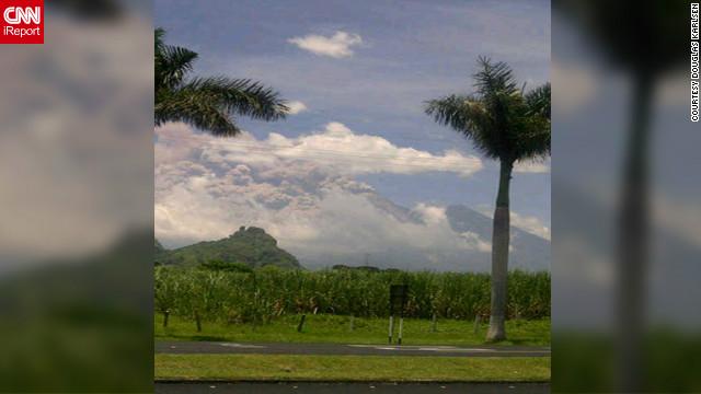El volcán de Fuego entra en erupción en Guatemala
