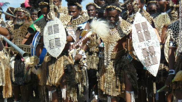 The skins are viewed as essential attire for church elders who wear them around their necks during traditional ceremonies.