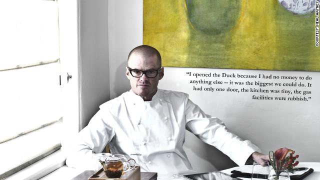 Heston Blumenthal's snail porridge obsession