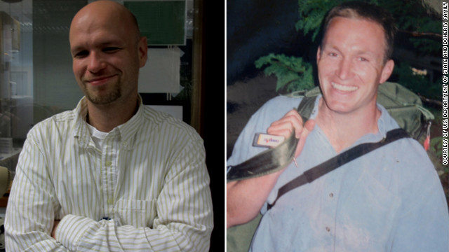 Sean Smith, left, and Glen Doherty died in the recent attacks on the U.S. Diplomatic Mission in Benghazi, Libya.