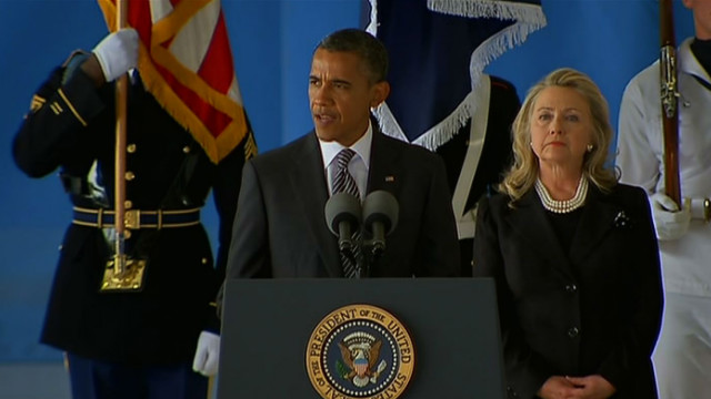 Obama: Americans laid down lives &#039;in service to us all&#039;