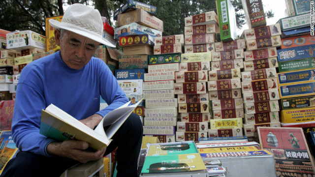 Page turner: Workplace novels sell in the millions in China with their mix of soap opera plots and career advice.