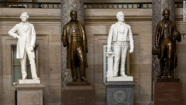District of Columbia to get statue in Capitol, but not in Statuary Hall