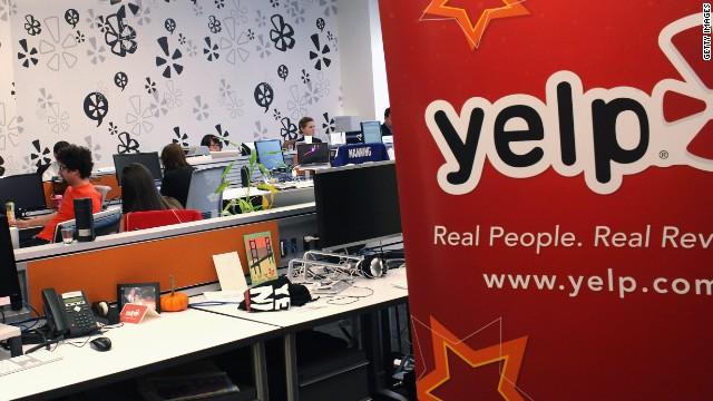 Las acciones de Yelp caen tras la noticia sobre el nuevo sistema de búsqueda de Facebook