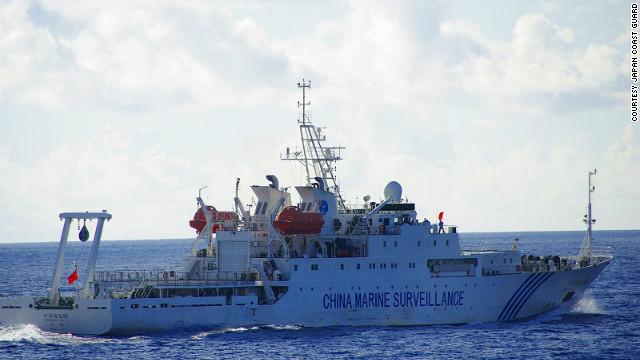 Barcos chinos invaden el mar japonés para vigilar las islas en disputa