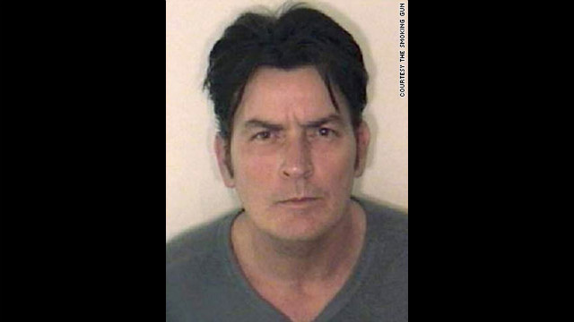 Bad boy actor Charlie Sheen is no stranger to Hollywood scandal. He posed for this mug after a 2009 arrest related to a domestic violence dispute.