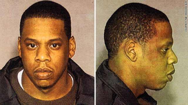 Rapper Jay-Z was arrested in 1999 for allegedly stabbing a record executive in a New York night club. He pleaded guilty in 2001 and was sentenced to three years' probation.