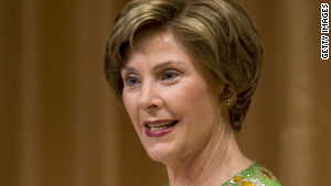 Former first lady Laura Bush was surprised by some expenses.