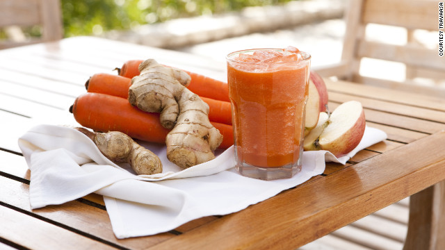 Juicing makes a splash at hotels