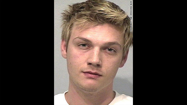 Backstreet Boy Nick Carter was arrested for drunken driving after failing a field sobriety test in 2005.