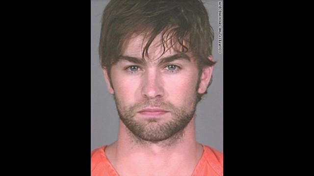  &quot;Gossip Girl&quot; star Chase Crawford was arrested in June 2010 in Austin, Texas, and charged with possession of marijuana. He was charged with a misdemeanor because he had less than 2 ounces, according to a police report.