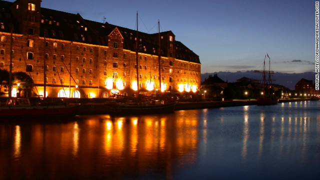 The picturesque Admiral Hotel is housed in a converted 18th-century warehouse.