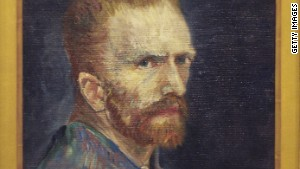 Self-Portrait by Vincent van Gogh.