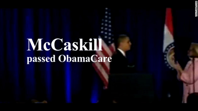 Akin focuses on McCaskill in new ad