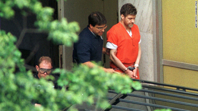 Convicted &quot;Unabomber&quot; Ted Kaczynski terrorized the country with a series of mail bombs over nearly two decades. The Harvard graduate killed three people and wounded 23 others prior to his arrest in 1996. Kaczynski pleaded guilty in 1998 and is serving a life term in the federal supermax prison in Florence, Colorado. Click through to read about other attacks carried out by Americans on American soil.