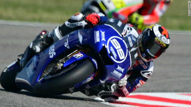 Jorge Lorenzo won the MotoGP world championship for the first and only time in 2010.
