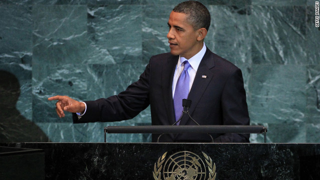 David Frum says President Barack Obama should use his U.N. address later this month to vigorously defend free speech.