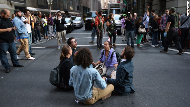 park sunday protesters geared observe one-year anniversary occupy wall street